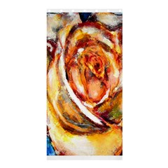 Abstract Rose Shower Curtain 36  X 72  (stall)  by timelessartoncanvas