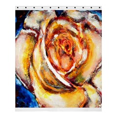 Abstract Rose Shower Curtain 60  X 72  (medium)  by timelessartoncanvas