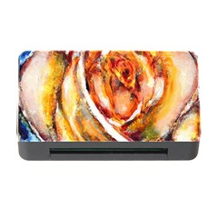 Abstract Rose Memory Card Reader With Cf by timelessartoncanvas