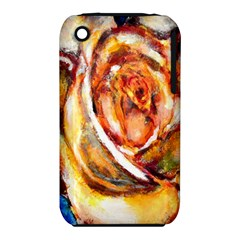 Abstract Rose Apple Iphone 3g/3gs Hardshell Case (pc+silicone) by timelessartoncanvas