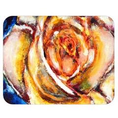 Abstract Rose Double Sided Flano Blanket (medium)  by timelessartoncanvas