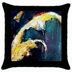 Abstract Space Nebula Throw Pillow Cases (black) by timelessartoncanvas