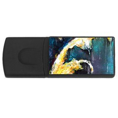 Abstract Space Nebula Usb Flash Drive Rectangular (4 Gb)  by timelessartoncanvas