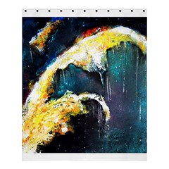 Abstract Space Nebula Shower Curtain 60  X 72  (medium)  by timelessartoncanvas