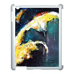 Abstract Space Nebula Apple Ipad 3/4 Case (white) by timelessartoncanvas