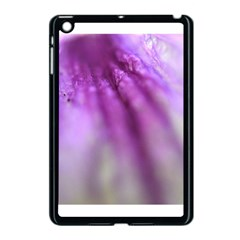 Purple Flower Pedal Apple Ipad Mini Case (black) by timelessartoncanvas