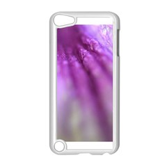 Purple Flower Pedal Apple Ipod Touch 5 Case (white) by timelessartoncanvas