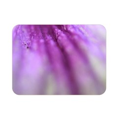 Purple Flower Pedal Double Sided Flano Blanket (mini)  by timelessartoncanvas