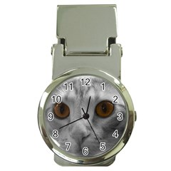 Funny Cat Money Clip Watches by timelessartoncanvas