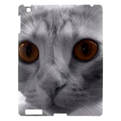 Funny Cat Apple Ipad 3/4 Hardshell Case by timelessartoncanvas