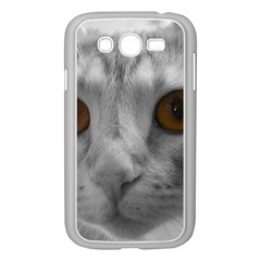Funny Cat Samsung Galaxy Grand DUOS I9082 Case (White) by timelessartoncanvas