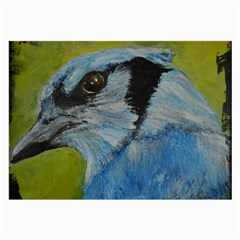 Blue Jay Large Glasses Cloth by timelessartoncanvas