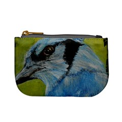 Blue Jay Mini Coin Purses by timelessartoncanvas