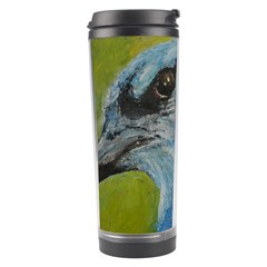 Blue Jay Travel Tumblers by timelessartoncanvas