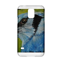 Blue Jay Samsung Galaxy S5 Hardshell Case  by timelessartoncanvas