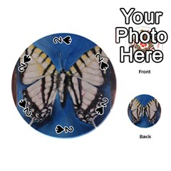 Butterfly Playing Cards 54 (round)