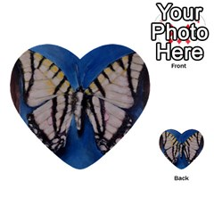 Butterfly Multi Purpose Cards (heart)  by timelessartoncanvas