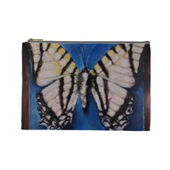 Butterfly Cosmetic Bag (large)  by timelessartoncanvas