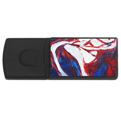 Sensual Usb Flash Drive Rectangular (4 Gb)  by timelessartoncanvas