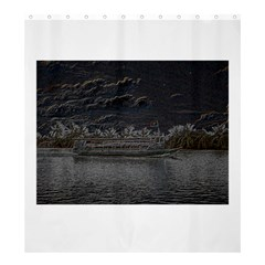 Boat Cruise Shower Curtain 66  X 72  (large)
