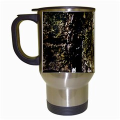 A Deeper Look Travel Mugs (white) by InsanityExpressed
