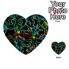 Soul Colour Multi Purpose Cards (heart)  by InsanityExpressed