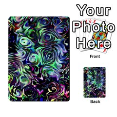 Colour Play Flowers Multi Purpose Cards (rectangle)  by InsanityExpressed
