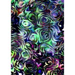 Colour Play Flowers I Love You 3D Greeting Card (7x5)  Inside