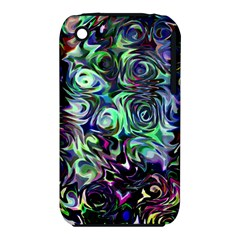 Colour Play Flowers Apple Iphone 3g/3gs Hardshell Case (pc+silicone)