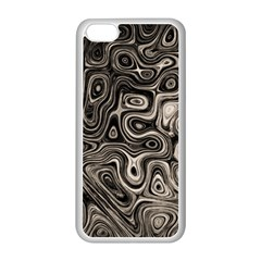 Tile Reflections Alien Skin Dark Apple Iphone 5c Seamless Case (white) by InsanityExpressed