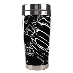 Alien Ball Stainless Steel Travel Tumblers by InsanityExpressed