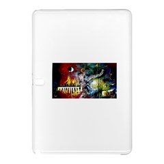 Abstract Music Painting Samsung Galaxy Tab Pro 10 1 Hardshell Case by timelessartoncanvas