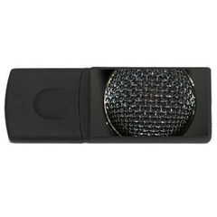Modern Microphone Usb Flash Drive Rectangular (4 Gb)  by timelessartoncanvas