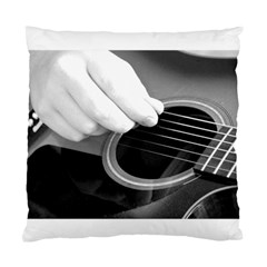 Guitar Player Standard Cushion Case (one Side)  by timelessartoncanvas