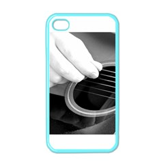 Guitar Player Apple Iphone 4 Case (color) by timelessartoncanvas