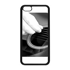 Guitar Player Apple Iphone 5c Seamless Case (black) by timelessartoncanvas