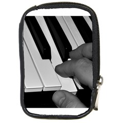 The Piano Player Compact Camera Cases by timelessartoncanvas