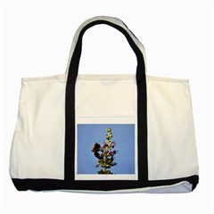 Bumble Bee 1 Two Tone Tote Bag  by timelessartoncanvas