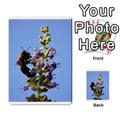 Bumble Bee 1 Multi Purpose Cards (rectangle)  by timelessartoncanvas