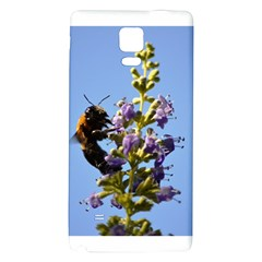 Bumble Bee 1 Galaxy Note 4 Back Case by timelessartoncanvas
