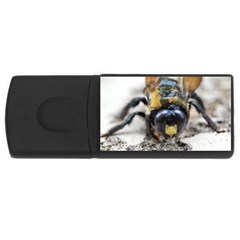 Bumble Bee 2 Usb Flash Drive Rectangular (4 Gb)  by timelessartoncanvas