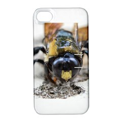 Bumble Bee 2 Apple Iphone 4/4s Hardshell Case With Stand by timelessartoncanvas