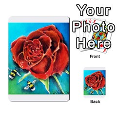Bumble Bee 3 Multi-purpose Cards (Rectangle)