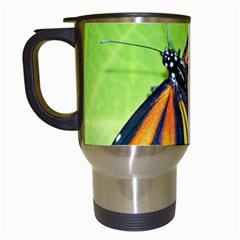 Butterfly 2 Travel Mugs (white) by timelessartoncanvas