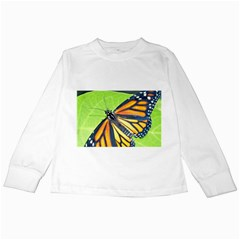 Butterfly 2 Kids Long Sleeve T-Shirts