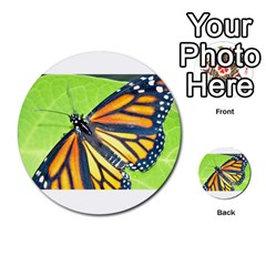 Butterfly 2 Multi Purpose Cards (round)  by timelessartoncanvas