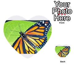 Butterfly 2 Multi Purpose Cards (heart)  by timelessartoncanvas