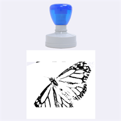Butterfly 2 Rubber Round Stamps (large) by timelessartoncanvas