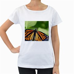 Butterfly 3 Women s Loose-Fit T-Shirt (White) by timelessartoncanvas