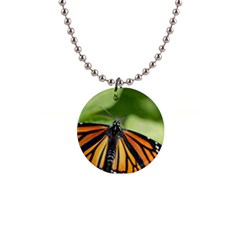 Butterfly 3 Button Necklaces